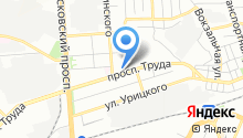 Джип на карте