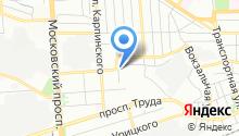 Пожарная часть №6 Коминтерновского района на карте