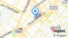 Безопасный город на карте