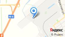 Изотэк на карте