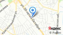 DFM-Воронеж, FM 104.3 на карте