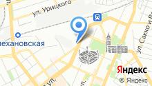 Автомойка на Кольцовской на карте