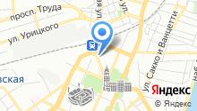 Абрау-Дюрсо на карте