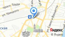 Гостевые квартиры на карте
