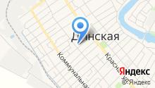 Отдел судебных приставов по Динскому району на карте