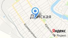 Центр занятости населения Динского района на карте