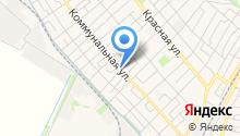 Продуктовый магазин на Кирпичной (Динская) на карте