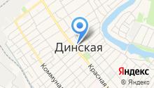 ЗАГС Динского района на карте