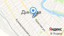 Есения на карте