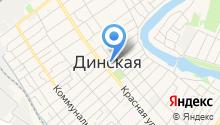 Магазин женской обуви на карте