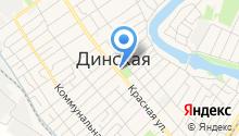 Мастерская по ремонту часов на Красной (Динская) на карте