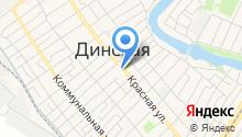 Администрация Динского сельского поселения на карте