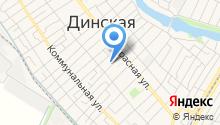 Прокуратура Динского района по Краснодарскому краю на карте
