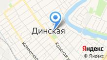 Магазин ковров на Пролетарской (Динская) на карте
