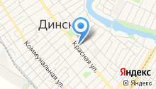 Динской центр культуры на карте