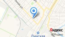 Продуктовый магазин на Коммунальной (Динская) на карте