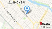 Прага на карте