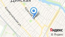 Динской районный дом культуры на карте