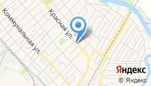 Мастерская по изготовлению ключей на Красной (Динская) на карте