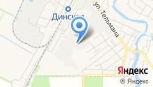 Автостан на карте