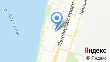 Автосервис на Ольховом на карте