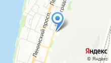 Специализированная пожарная спасательная часть №4 на карте