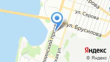 Эвакуатор-Воронеж - Эвакуация автомобилей, помощь на дороге. на карте