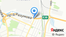 Юг на карте