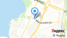 AXEL на карте