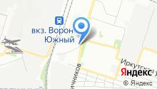 АКВАДРАЙВ на карте