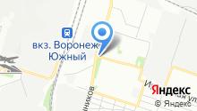 Штаб на карте