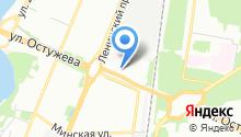 Мастерская автостекла на карте