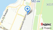 Booking Travels на карте