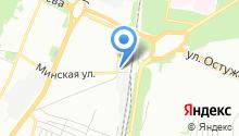 RexCar на карте
