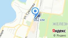 Самбар на карте