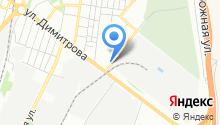 Рижская на карте