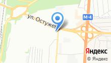 Ситроен Центр Воронеж на карте
