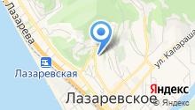 LazarevskoeРеклама на карте
