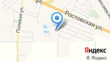 Ростовский на карте