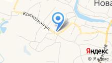 Новоусманская средняя общеобразовательная школа №4 на карте