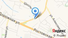 Администрация Усманского 2-го сельского поселения Новоусманского муниципального района Воронежской области на карте