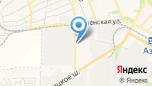 Азовский электромеханический завод, ЗАО на карте