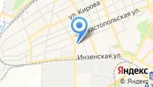 ГИБДД г. Азова на карте