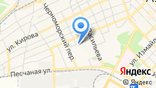 Продуктовый магазин на ул. Макаровского на карте