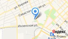 Специальная коррекционная общеобразовательная школа №7 г. Азова на карте