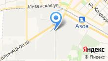 МТЕ ДПМ на карте