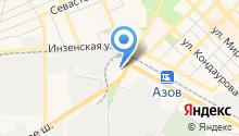 Донюгстрой, ЗАО на карте