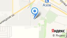 ООО ГРИНМАКС филиал Азов на карте