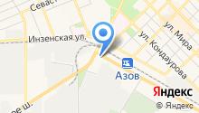 Ростовский базовый медицинский колледж на карте