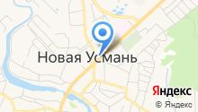 Управление Федерального казначейства по Воронежской области на карте